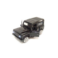 Mainan mobil diecast Jeep Wrangler - Hijau