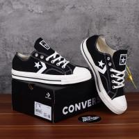 Converse One Star Player Japan Market CX Chevronstar Black White Ox
