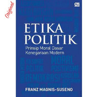 Buku Etika Politik Franz Magnis Suseno