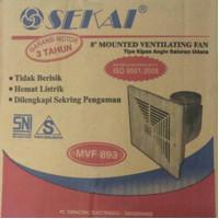 exhaust fan ceiling fan plafon sekai 8 inch mvf 893