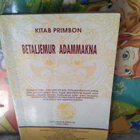 Kitab Primbon betaljemur adammakna