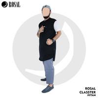 Rompi Shalat Rosal Classter Bahan Kaos Baby Terry