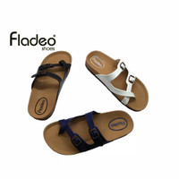 Fladeo J19/LDS245-3KR/Sandal For Ladies[Slip On Style]