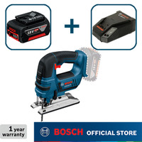 Bosch Jigsaw Baterai Full Set GST 18 V-Li GEN2 (Baterai 4.0Ah)