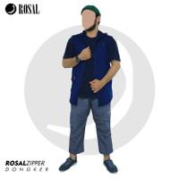 Rosal Zipper Rompi Sholat dengan Zipper Bahan Baby Terry