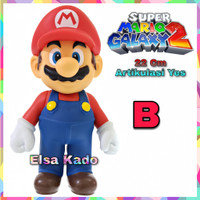 Figure Super Mario Mainan Large Size Topper Cake