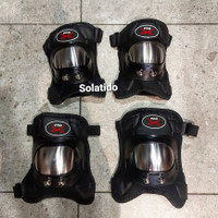 protector pendek Pro-X , deker, elbow and knee guard, bikers, motor