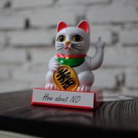 LUCKY CAT F*CK YOU - PAJANGAN KUCING HOKI - MANEKI NEKO