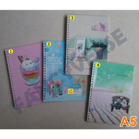 Notebook Spiral A5 2555-29 / Agenda Diary Notes Buku Catatan