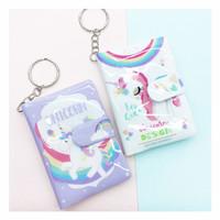 mini notebook unicorn buku