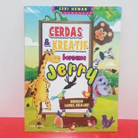 Buku Cerdas & Kreatif Bersama Jerry Bermain Sambil Belajar