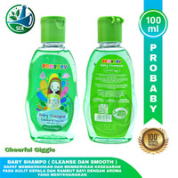 PROBABY Shampo - Cheerful Ginggle - Silky Cuddle - Isi 100 ml