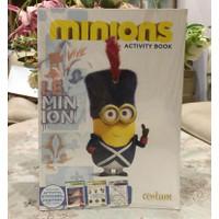 Buku aktivitas anak Minions/Edukasi anak/sekolah dari rumah murah ori