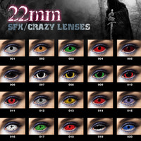 FULL EYE SCELERA SCLERA SOFTLENS HALLOWEEN WARNA UNIK