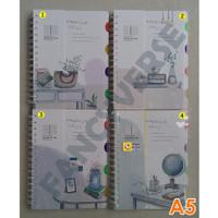 Notebook Spiral A5 GB-25129-21 / Agenda Diary Notes Buku Catatan