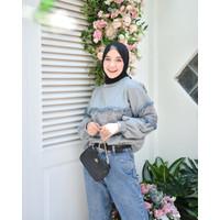 Outerwear Wanita Muslim Original | Zoyya Sweatshirt| Terminal Grosir
