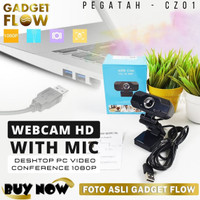 Webcam HD 1080p with Mic for Video Conference Zoom Skype Webinar CZ01