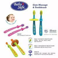 baby safe gum massage toothbrush