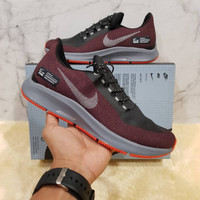 Sepatu Running pria Nike Zoom Pegasus Shield Maroon