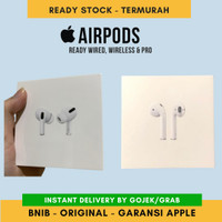 Apple Airpods Pro / Airpods2 Wired or Wireless Garansi Resmi Apple - Wired
