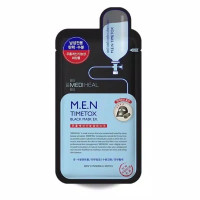 MEDIHEAL M.E.N Men Timetox Black MASK NEW