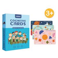TweedyToys - Mideer Cognitive Cards / Kartu pengenalan bahasa