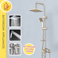 SHOWER SET COLUMN KOTAK PRESTILE / SHOWER MANDI / KERAN PANAS DINGIN