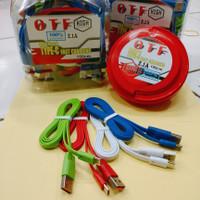 Kabel data OTF Type C 2.1A Kabel Charger OTF USB C isi 50psc 100cm