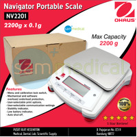 Ohaus Navigator Portable Scale 2200g x 0.1g NV2201
