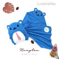 Cuddle Me Bobalimut Boneka Bantal Selimut Topi Bayi Balmut Hoodie Baby - Hampton