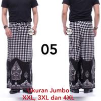 Sarung Celana Jumbo - Sarung Celana Batik Ukuran Jumbo Muat XXXXL