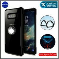 Case Samsung Galaxy Note 8 Soft Hard TPU HD Transparan Casing Cover