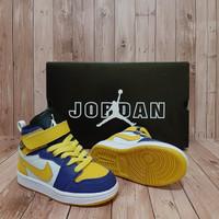 Sepatu anak casual NIKE AIR JORDAN KIDS / NEW ARRIVAL / YELLOW GREEN /