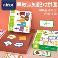 Mideer Math Count / Color Match Puzzle Dus