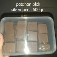 patahan coklat blok silverqueen
