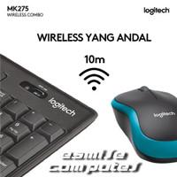 Keyboard Mouse Wireless - LOGITECH MK275 Keyboard & Mouse Combo