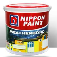 Cat Tembok Exterior Nippon Weatherbond Brilliant White 2.5L