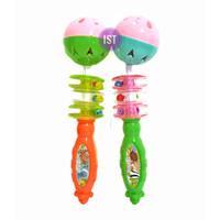 Mainan Pegangan Kerincingan Bayi bentuk Stick isi 2 pcs No. 2108-2