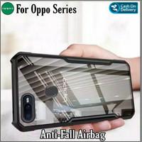 Case Oppo A7 Oppo A5s Soft Hard Fusion Tpu HD Transparan