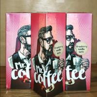 Vape Liquid Mr Coffee Strawberry Vanilla Latte 3MG 60ML by IDJ