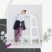 Baju anak perempuan/Setelan tunik anak/Setelan Yusra pachira