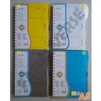 Notebook Spiral A5 25311-11 / Agenda Diary Notes Buku Catatan