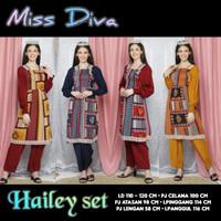 one set arab india dubai turki MISS DIVA SET HAILEY setelan panjang
