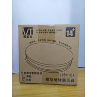 Rotary Base White Putih Listrik 15cm Figure Gundam HG MG PG