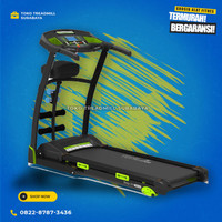 Treadmill elektrik TL130 manual incline 2hp merk total|alat fitness