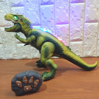 Mainan RC Dinosaur Robot Remote Control Dino Tirex