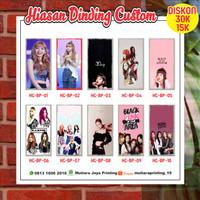 Hiasan Dinding Kamar BLACKPINK Edition / Lukisan BTS / PosterKayu