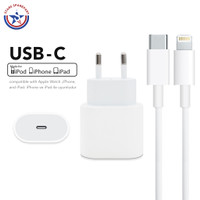 iPhone USB-C to 18W Power Adapter / USB-C to Lightning Cable Fullset