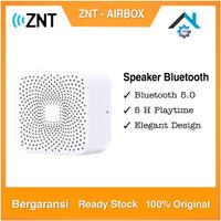 Speaker Portable ZNT Air Box Wireless Bluetooth 5.0 Original - Putih