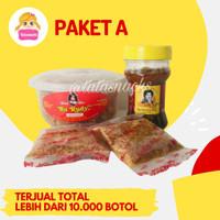 Paket Sambal Bu Rudy A : 1 udang + 1 bawang